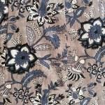 Slate Floral Print