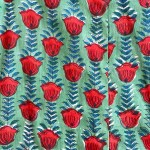 Pistachio+Red Print